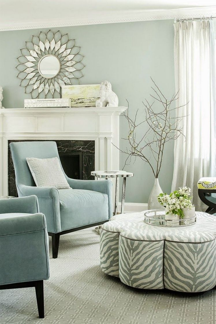 Interesting Living Room Paint Color Ideas: 2017 Color Trends And Inspiration For Interior Design
