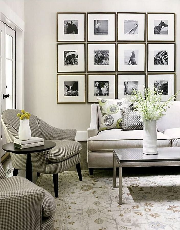 Great Small Living Room Ideas Small Living Room Ideas With Neutral Color Picture Walls Photo Walls Architecturein