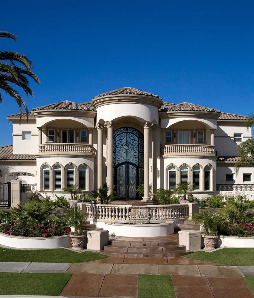 Mediterranean Style Home Designs | ArchitectureIn