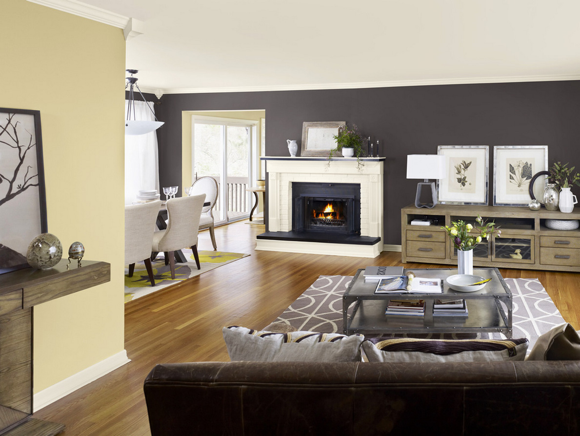 rooms with combination of two colours tagged ideas painting living