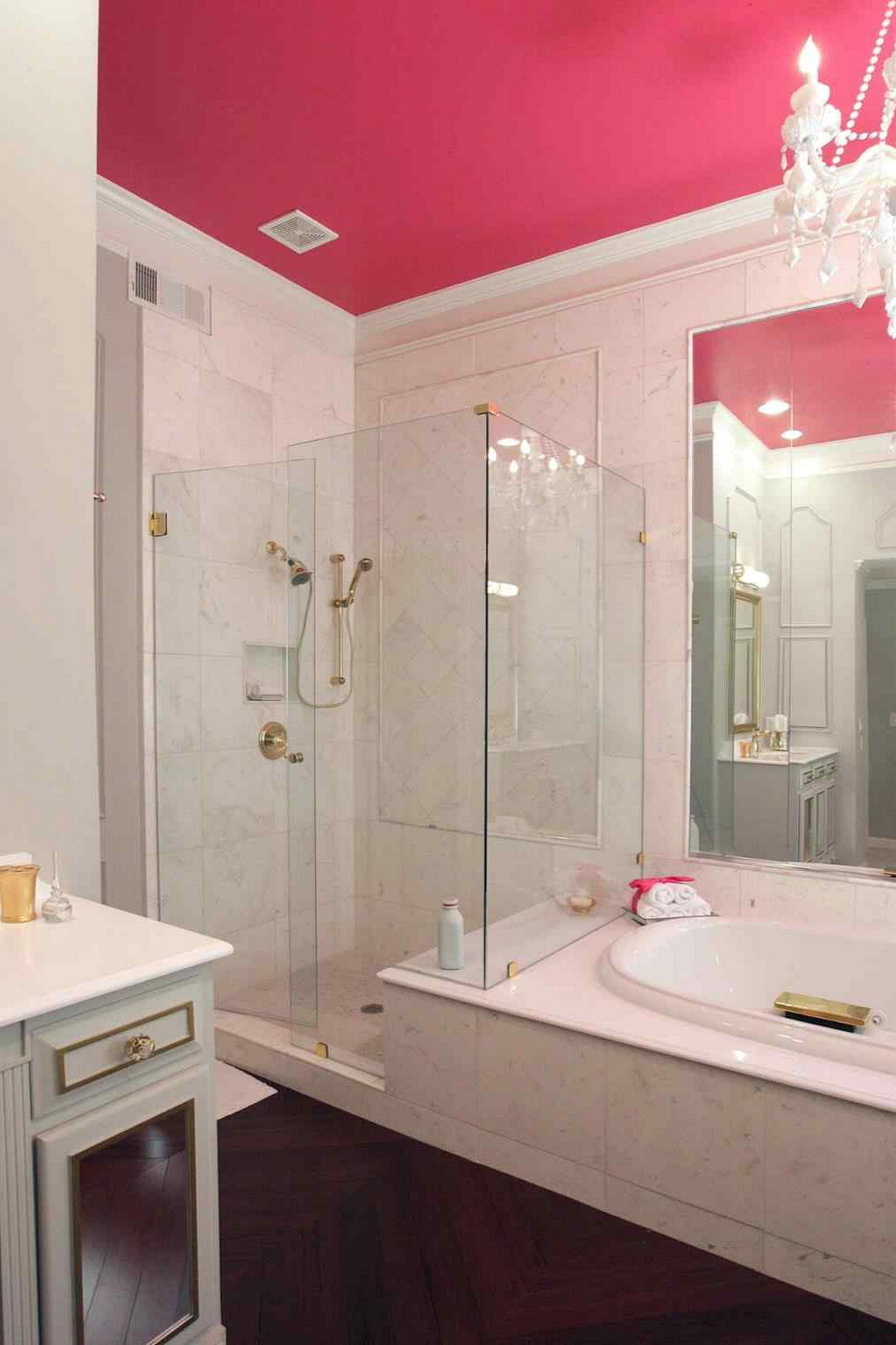 Minimalist bathroom design tips architecturein Pink bathroom ideas pictures