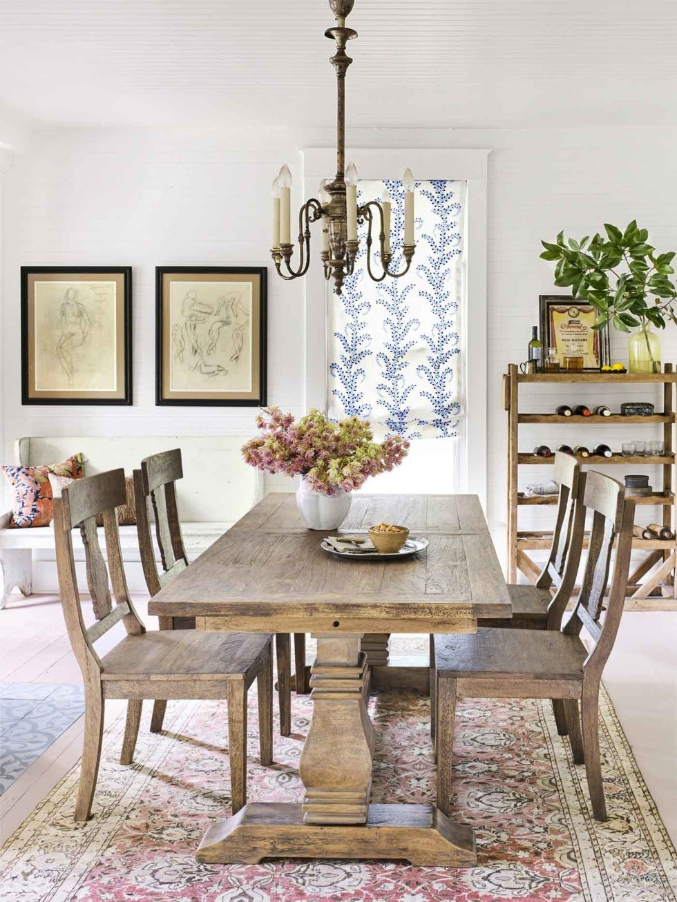 Elegant Farmhouse Dining Room Decor | ArchitectureIn
