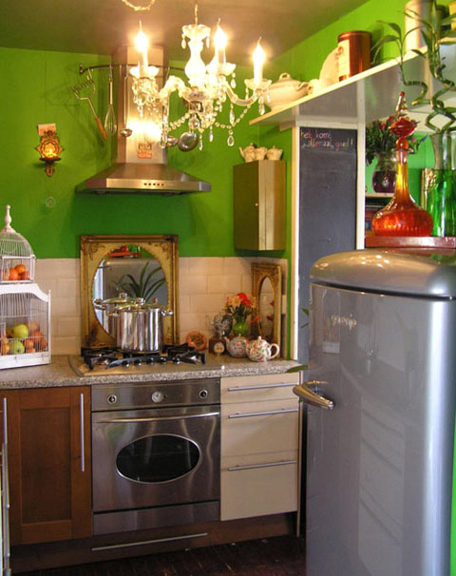 small kitchen color ideas 13 beautiful kitchen ideas for small spaces architecturein 21936