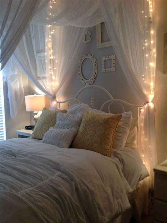Luxury Diy Bed Canopy With Lights | ArchitectureIn