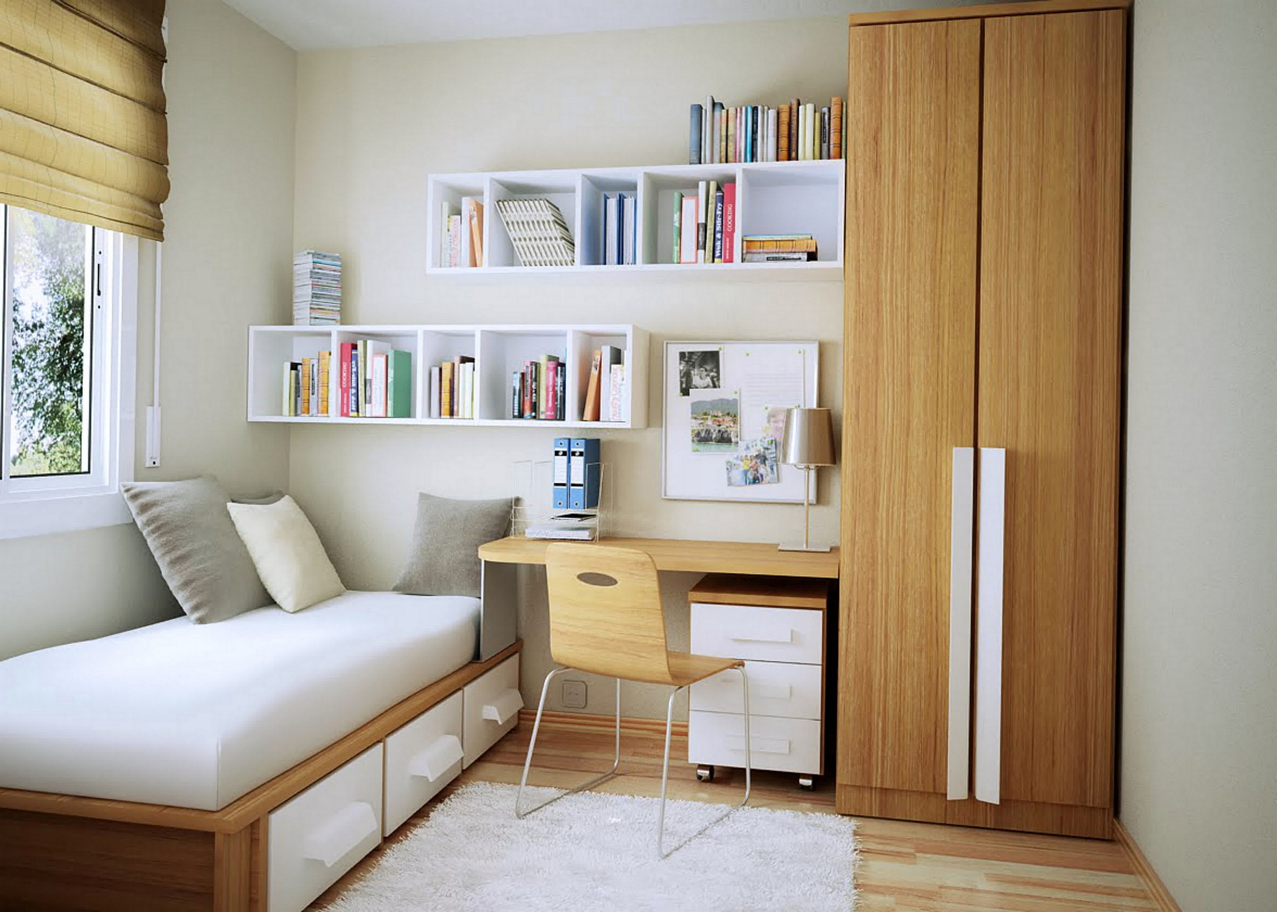 Simple Bedroom Ideas Small Spaces Top Ideas | ArchitectureIn