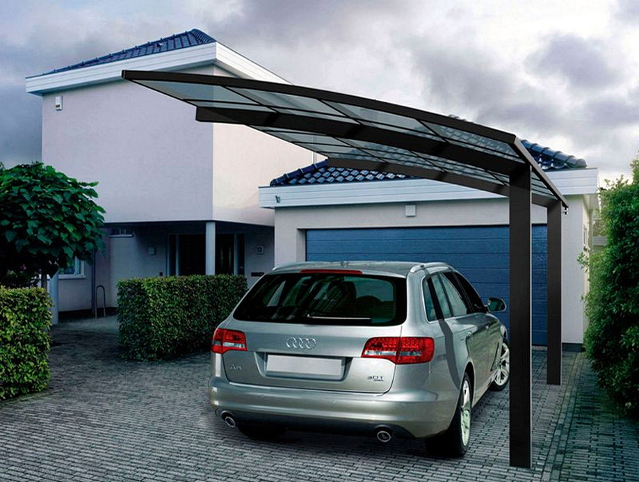 Strong And Durable Aluminum Car Parking Shade Metal Frame Material And Garages Canopies Carports Architecturein