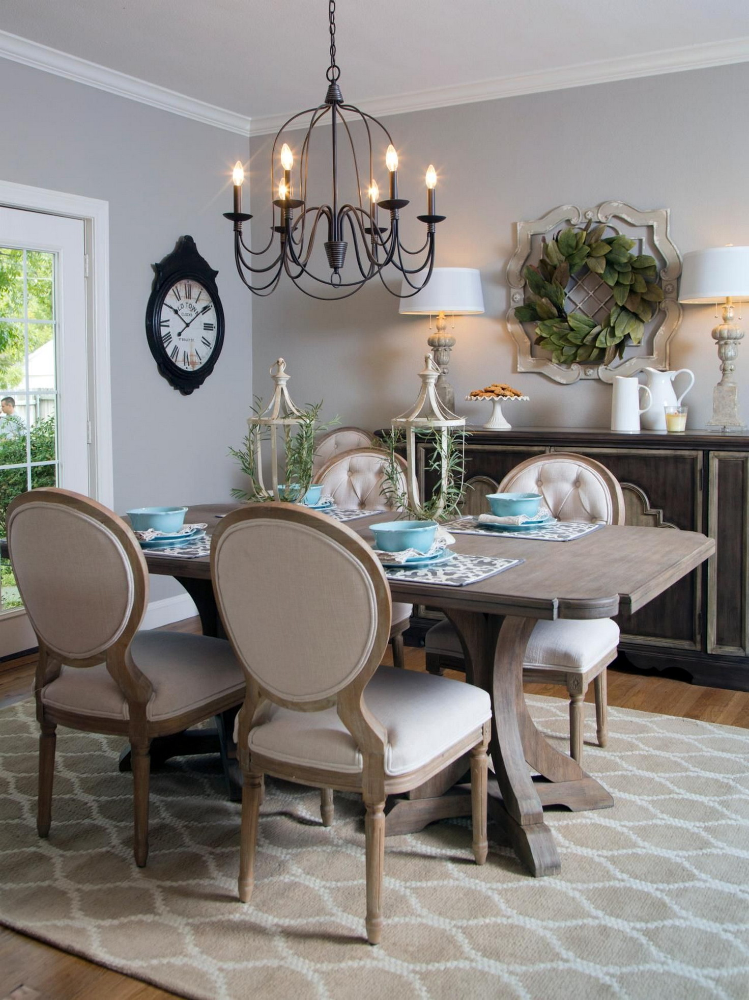 Open Style Dining Room French Country Style Architecturein
